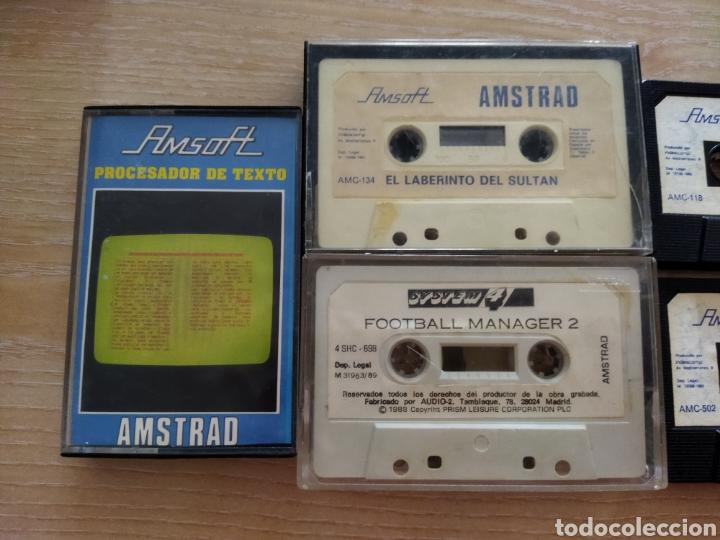 Videojuegos y Consolas: Lote Cinco cintas Amstrad, Amsoft. - Foto 2 - 241025900