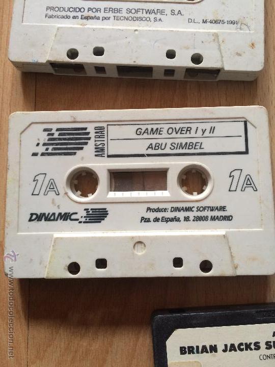 GAME OVER I Y II Y ABU SIMBEL- VIDEOJUEGOS Y CONSOLAS - AMSTRAD (Juguetes - Videojuegos y Consolas - Amstrad)