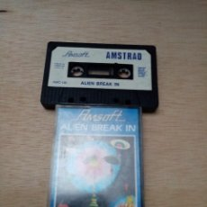Videojuegos y Consolas: ALIEN BREAK IN. AMSOFT. AMSTRAD.. Lote 254166820