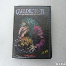 Videojuegos y Consolas: CAULDRON II / ESTUCHE ERBE / AMSTRAD CPC 464 / RETRO VINTAGE / CASSETTE - CINTA. Lote 255341825
