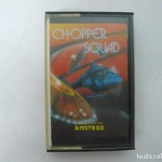 Videojuegos y Consolas: CHOPPER SQUAD / JEWELL CASE / AMSTRAD CPC 464 / RETRO VINTAGE / CASSETTE - CINTA. Lote 255342720