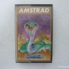 Videojuegos y Consolas: COBRAS ARC / JEWELL CASE / AMSTRAD CPC 464 / RETRO VINTAGE / CASSETTE - CINTA. Lote 255343045