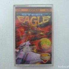Videojuegos y Consolas: STEEL EAGLE / JEWELL CASE / AMSTRAD CPC 464 / RETRO VINTAGE / CASSETTE - CINTA. Lote 255344610