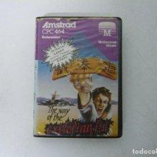 Videojuegos y Consolas: THE WAY OF THE EXPLODING FIST / ESTUCHE / AMSTRAD CPC 464 / RETRO VINTAGE / CASSETTE - CINTA. Lote 255345030
