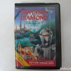Videojuegos y Consolas: FANTASIA DIAMOND / ESTUCHE / AMSTRAD CPC 464 / RETRO VINTAGE / CASSETTE - CINTA. Lote 255345820
