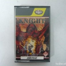 Videojuegos y Consolas: KNIGHT FORCE / JEWELL CASE / AMSTRAD CPC 464 / RETRO VINTAGE / CASSETTE - CINTA. Lote 255347695