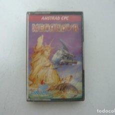 Videojuegos y Consolas: MEGANOVA DE DINAMIC / JEWELL CASE / AMSTRAD CPC 464 / RETRO VINTAGE / CASSETTE - CINTA. Lote 255348670