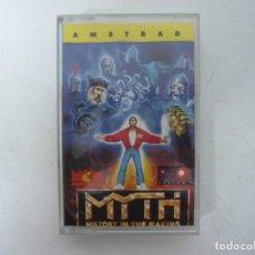 Videojuegos y Consolas: MYTH / JEWELL CASE / AMSTRAD CPC 464 / RETRO VINTAGE / CASSETTE - CINTA. Lote 255349565