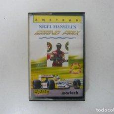 Videojuegos y Consolas: NIGEL MANSELL'S GP / JEWELL CASE / AMSTRAD CPC 464 / RETRO VINTAGE / CASSETTE - CINTA. Lote 255349740