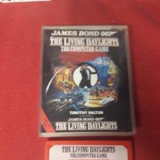 Videojuegos y Consolas: JUEGO AMDTRAD JAMES BOND 007 THE LIVING DAYLIGHTS. Lote 255602730