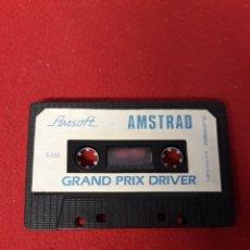 Videojuegos y Consolas: JUEGO AMSTRAD GRAND PRIX DRIVER. Lote 255920335