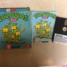 Videojuegos y Consolas: TORTUGAS NINJA AMSTRAD DISCO. Lote 256040475