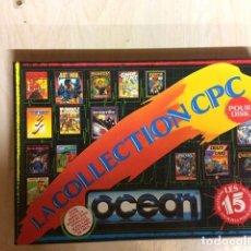 Videojuegos y Consolas: LA COLLECTION CPC OCEAN AMSTRAD DISCO. Lote 256113495