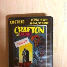 Videojuegos y Consolas: CRAFTON & XUNK AMSTRAD DISCO CON CÓMIC. Lote 256121705