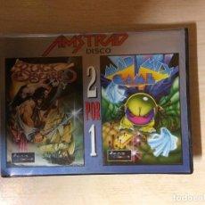 Videojuegos y Consolas: BLACK BEARD MAD MIX GAME 2 POR 1 AMSTRAD DISCO. Lote 256132125