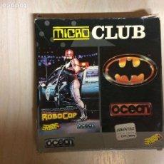 Videojuegos y Consolas: BATMAN ROBOCOP AMSTRAD. Lote 257293320