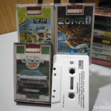 Videojuegos y Consolas: JUEGO AMSTRAD MICRO HOBBY Nº 41 36 35 CAJAS VACIAS MAS UN JUEGO SUELTO. Lote 260548365