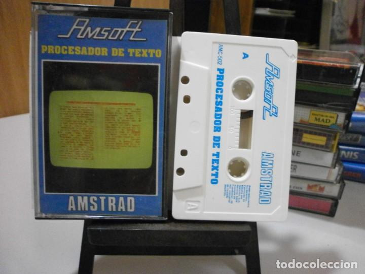 JUEGO AMSTRAD PROCESADOR DE TEXTO (Juguetes - Videojuegos y Consolas - Amstrad)
