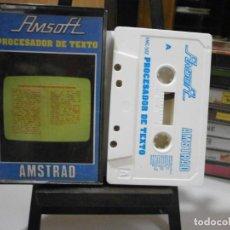 Videojuegos y Consolas: JUEGO AMSTRAD PROCESADOR DE TEXTO. Lote 260548675