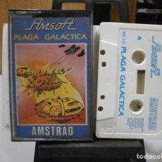 Videojuegos y Consolas: JUEGO AMSTRAD PLAGA GALACTICA. Lote 260549050