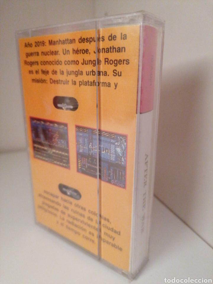 Videojuegos y Consolas: AFTER THE WAR. Serie Leyenda. DINAMIC. AMSTRAD. Nuevo sin desprecintar - Foto 2 - 260777150