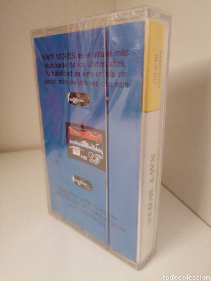 Videojuegos y Consolas: NAVY MOVES. Serie Leyenda. DINAMIC. AMSTRAD. Nuevo sin desprecintar - Foto 2 - 260777200