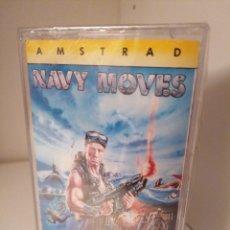 Videojuegos y Consolas: NAVY MOVES. SERIE LEYENDA. DINAMIC. AMSTRAD. NUEVO SIN DESPRECINTAR. Lote 260777200
