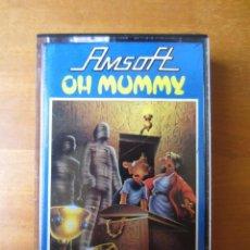 Videojuegos y Consolas: OH MUMMY (GEM SOFTWARE - AMSOFT) (AMSTRAD CPC). Lote 262150410
