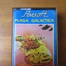 Videojuegos y Consolas: LA PLAGA GALACTICA (INDESCOMP) (AMSTRAD CPC). Lote 262150460