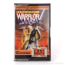 Videojuegos y Consolas: ENERGY WARRIOR DRO SOFT ESPAÑA MASTERTRONIC + MOLECULE MAN 1988 SHOOTER AMSTRAD CPC 464 664 CASSETTE. Lote 262219375