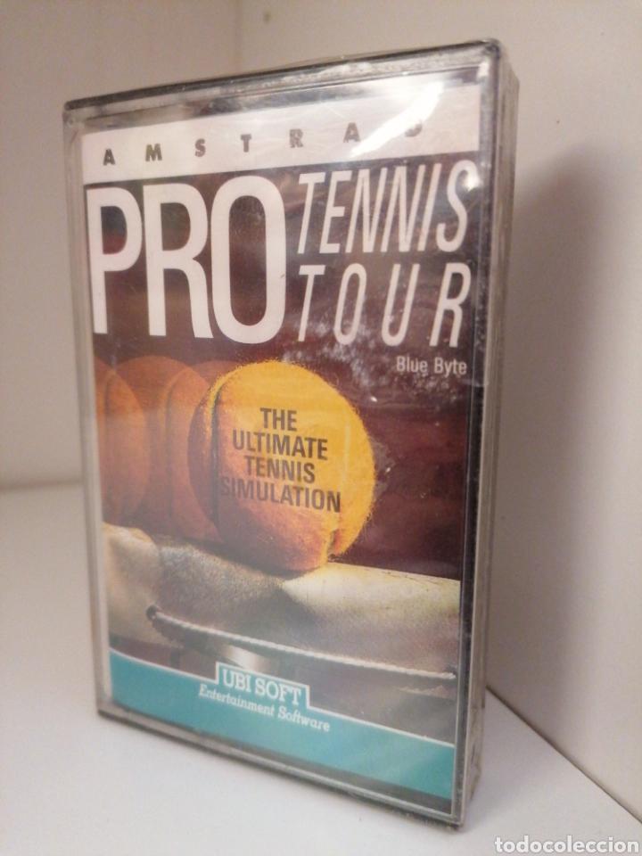 PRO TENNIS TOUR - AMSTRAD - NUEVO SIN DESPRECINTAR (Juguetes - Videojuegos y Consolas - Amstrad)
