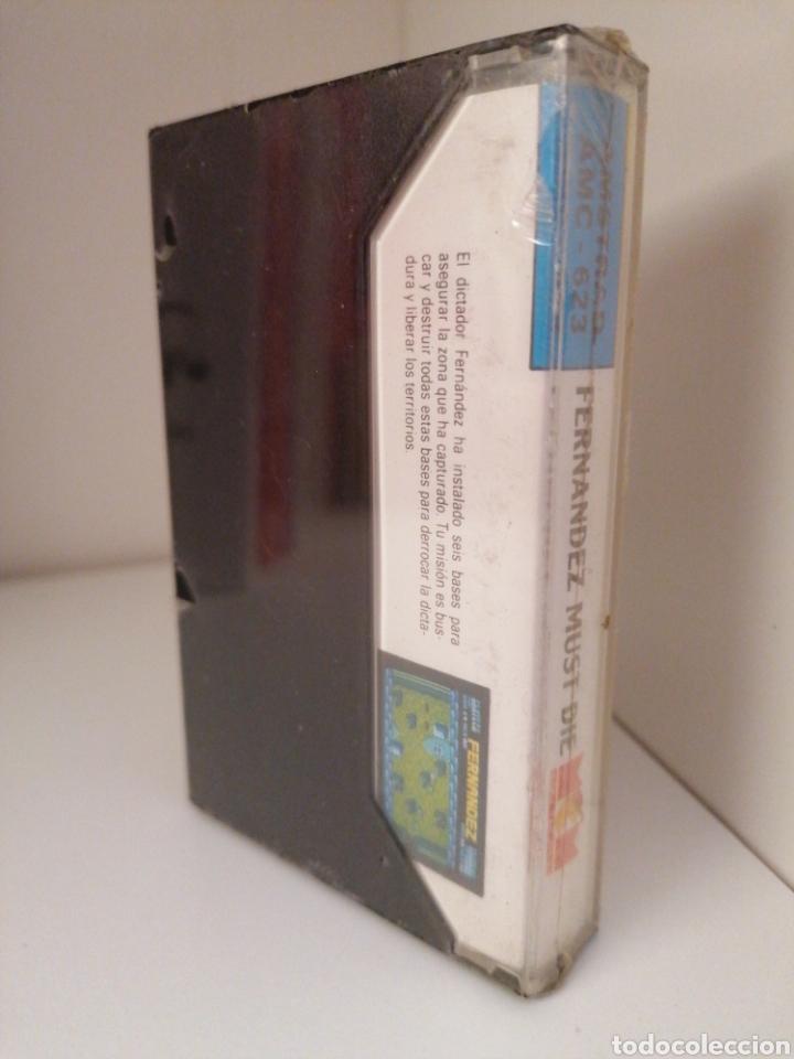 Videojuegos y Consolas: FERNÁNDEZ MUST DIE - AMSTRAD. Nuevo sin desprecintar - Foto 2 - 262246155