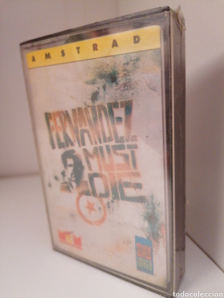 FERNÁNDEZ MUST DIE - AMSTRAD. NUEVO SIN DESPRECINTAR (Juguetes - Videojuegos y Consolas - Amstrad)