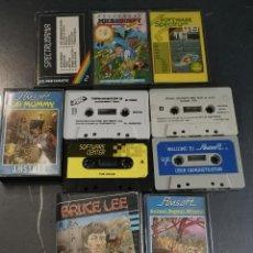 Videojuegos y Consolas: LOTE JUEGOS CASSETE AMSTRAD PC COMMODORE .... Lote 262264765