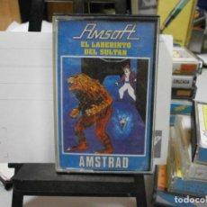Videojuegos y Consolas: JUEGO AMSTRAD EL LABERINTO DEL SULTAN TODO ORIGINAL. Lote 262418215