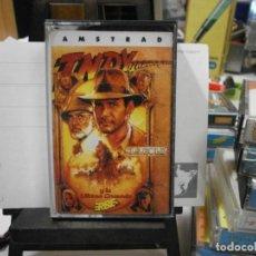 Videojuegos y Consolas: JUEGO AMSTRAD INDIANA JONES TODO ORIGINAL. Lote 262418465