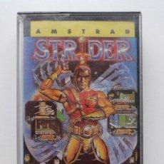 Videojuegos y Consolas: STRIDER CAPCOM US GOLD U.S. GOLD AMSTRAD CPC 464 472 664 6128. Lote 263149995