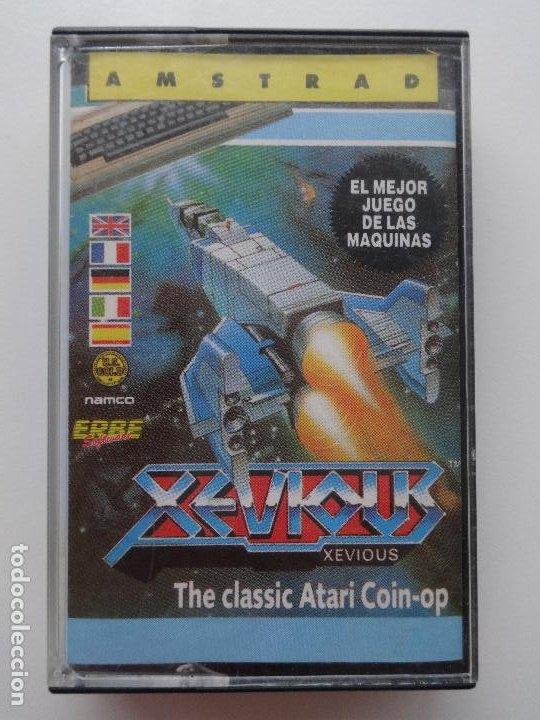XEVIOUS NAMCO AMSTRAD CPC 464 472 664 6128 (Juguetes - Videojuegos y Consolas - Amstrad)