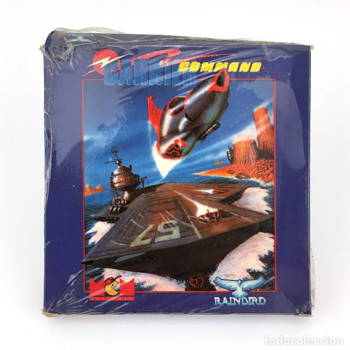 CARRIER COMMAND PRECINTADO. MCM ESPAÑA RAINBIRD VUELO NOS FLIGHT DISKETTE AMSTRAD CPC 664 6128 DISCO (Juguetes - Videojuegos y Consolas - Amstrad)