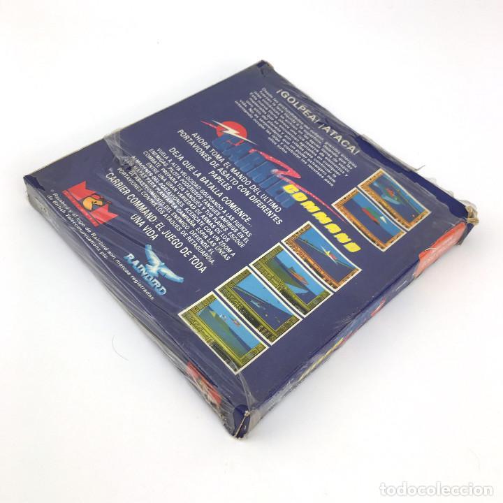Videojuegos y Consolas: CARRIER COMMAND Precintado. MCM ESPAÑA RAINBIRD VUELO NOS FLIGHT DISKETTE AMSTRAD CPC 664 6128 DISCO - Foto 2 - 229134345