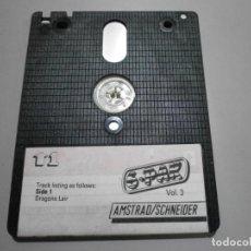 Videojuegos y Consolas: JUEGO AMSTRAD SCHNEIDER DISCO 6 PAK VOL 3 AÑO 1988. Lote 263248860