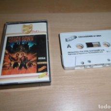 Videojuegos y Consolas: AMSTRAD CINTA CASSETTE CRACKDOWN. EDICIÓN ERBE 8 BITS. MUSICAL 1. MUY RARA!!!. Lote 264454519