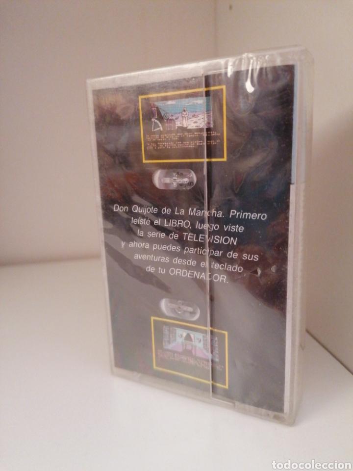 Videojuegos y Consolas: EL QUIJOTE - AMSTRAD - Nuevo sin desprecintar - Foto 2 - 264797219
