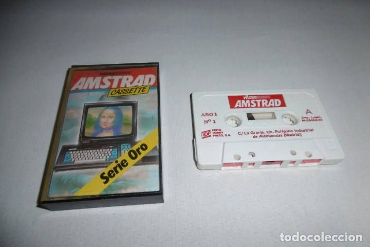 CINTA CASSETTE MICROHOBBY AMSTRAD Nº1. MUY RARA!!!! (Juguetes - Videojuegos y Consolas - Amstrad)