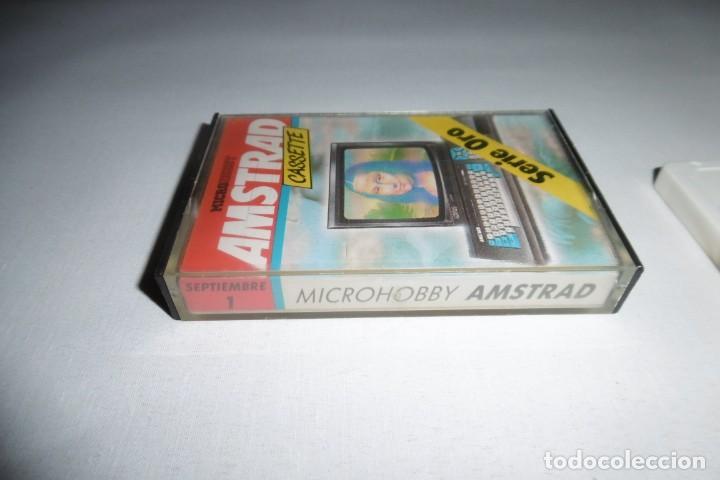 Videojuegos y Consolas: Cinta Cassette Microhobby Amstrad Nº1. Muy rara!!!! - Foto 2 - 265652774