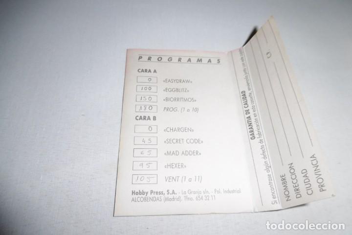 Videojuegos y Consolas: Cinta Cassette Microhobby Amstrad Nº1. Muy rara!!!! - Foto 4 - 265652774