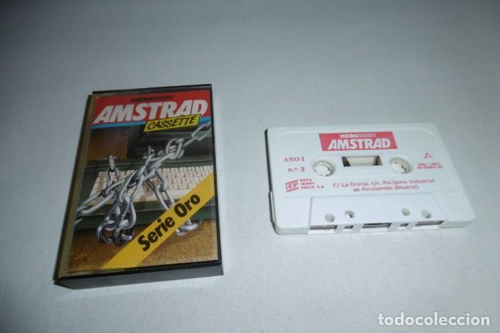 CINTA CASSETTE MICROHOBBY AMSTRAD Nº3. MUY RARA!!!! (Juguetes - Videojuegos y Consolas - Amstrad)