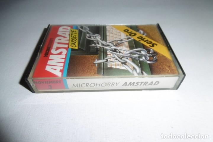 Videojuegos y Consolas: Cinta Cassette Microhobby Amstrad Nº3. Muy rara!!!! - Foto 2 - 265652939