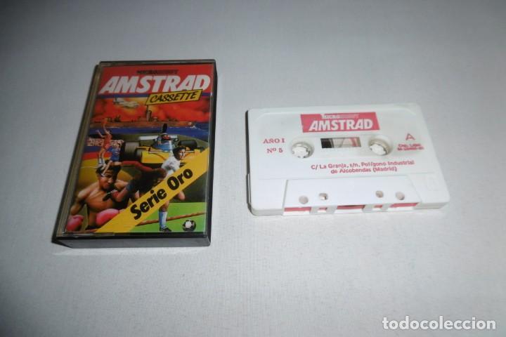 CINTA CASSETTE MICROHOBBY AMSTRAD SERIE ORO Nº5. MUY RARA!!! (Juguetes - Videojuegos y Consolas - Amstrad)