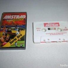 Videojuegos y Consolas: CINTA CASSETTE MICROHOBBY AMSTRAD SERIE ORO Nº5. MUY RARA!!!. Lote 265653224